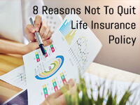 not to cancel life insurance policy