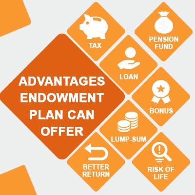 benefits of endowment plans