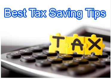 best tax saving tips