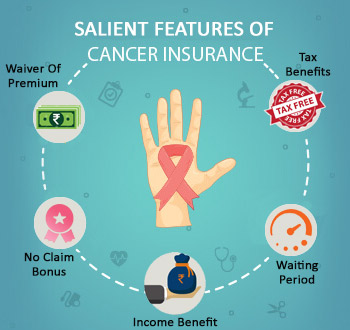 cancer insurance features