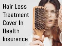 Health insurance for hair loss