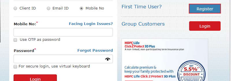 HDFC Life Registration Process-11