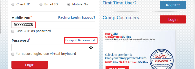HDFC Life Registration Process-5