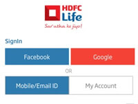 About HDFC Life Insurance Login And Registration