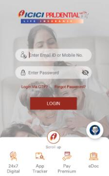 ICICI Pru App Login