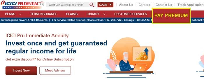 ICICI Pru Pay Premium