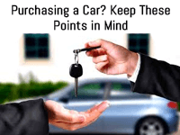keep these mind while purchasing car