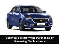 Factors-renewing-car-insurance
