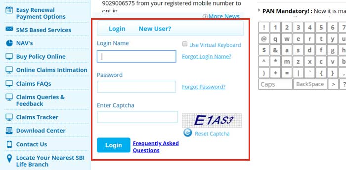 sbi life insurance login form 30 4 20 - How To Get Sbi Life Insurance Premium Payment Receipt