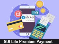 sbi life premium payment