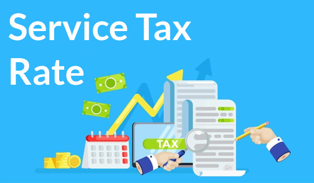 service tax rate