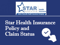 Star Health Insurance Policy and Claim Status