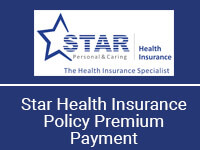 star health premium payment