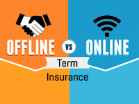 online and offline term insurance