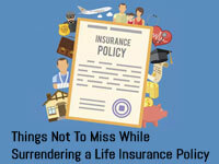 life insurance policy surrender