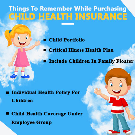things remember in child health insurance