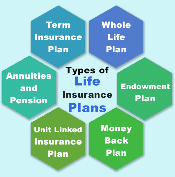 types of life insurance plans