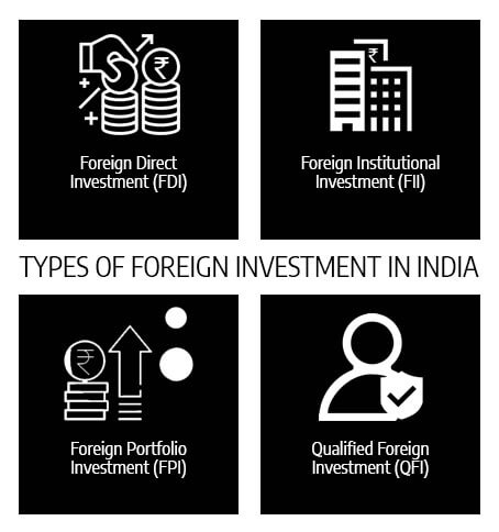 Types Foreign Investment in India