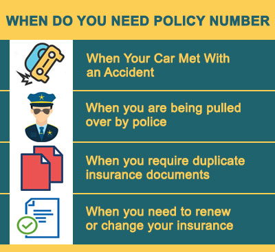 Need Car Insurance Policy Number