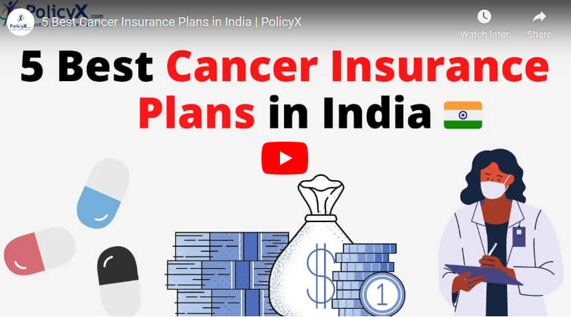 Best Cancer Insurance Plans In India