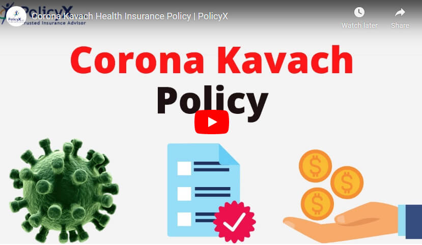 Corona Kavach Policy