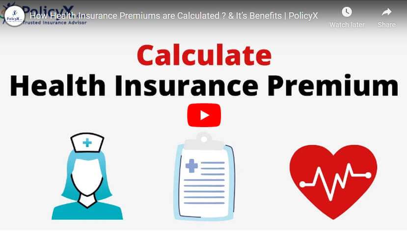 Health Insurance Premiums Calculated