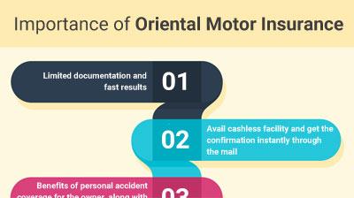 Importance of Oriental Motor Insurance