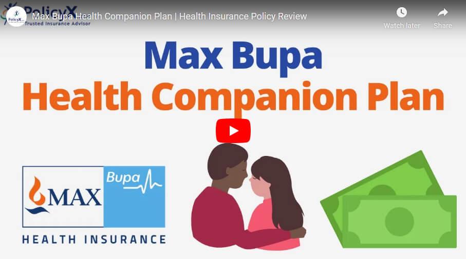 Max Bupa Health Companion Plan
