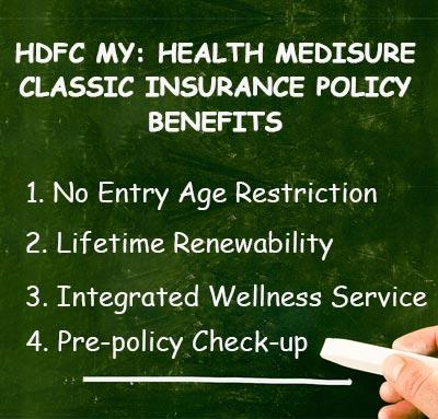 myHealth Medisure Classic Insurance Policy