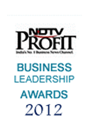 Business Leadership Awards 2012 by NDTV Profit