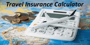 Travel Insurance calculator