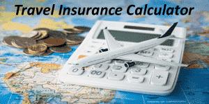 Travel Insurance calculator
